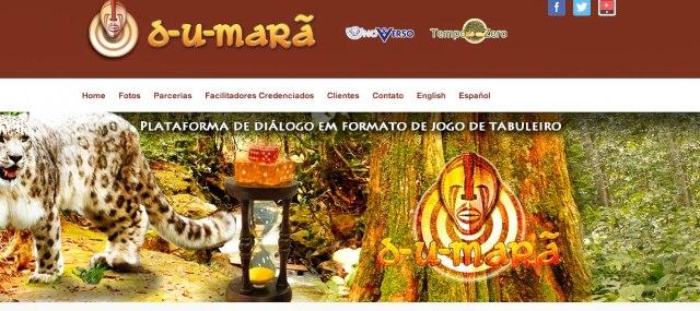Novidade na rede: site do D-U-Marã recheado de informações sobre o jogo